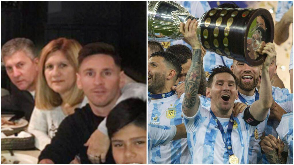 El ritual de la madre de Messi para que Argentina ganase la Copa América: Vio el partido sola y rodeada de santos