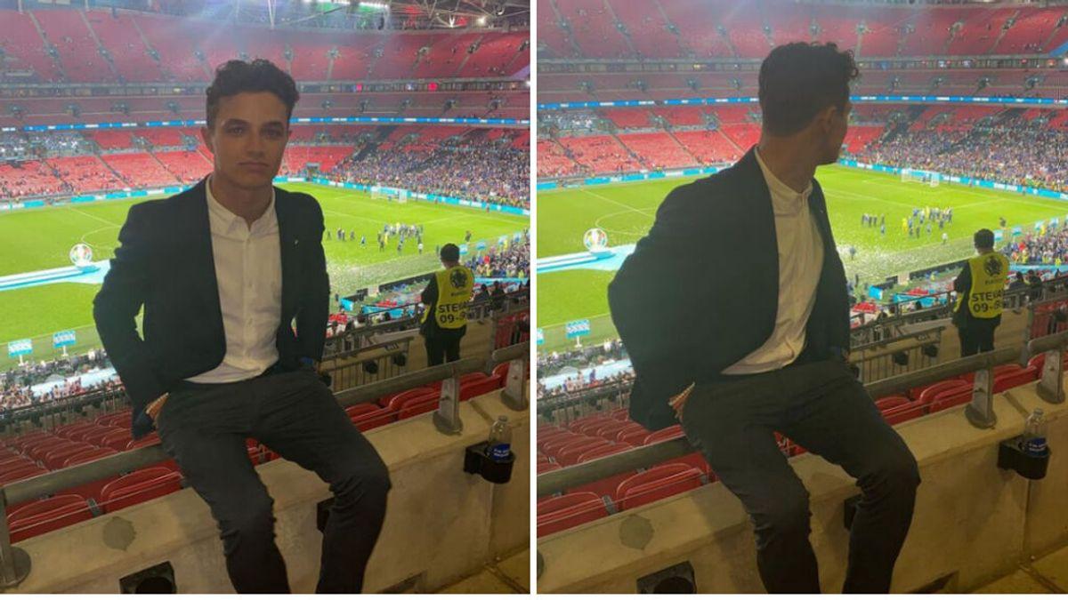 Lando Norris, atracado a la salida de Wembley por aficionados ingleses: se encuentra ileso, pero conmocionado