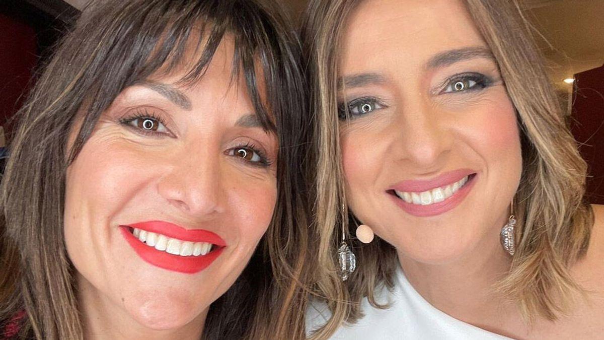 Así ha sido el emotivo reencuentro de Nagore Robles con Sandra Barneda en el aeropuerto