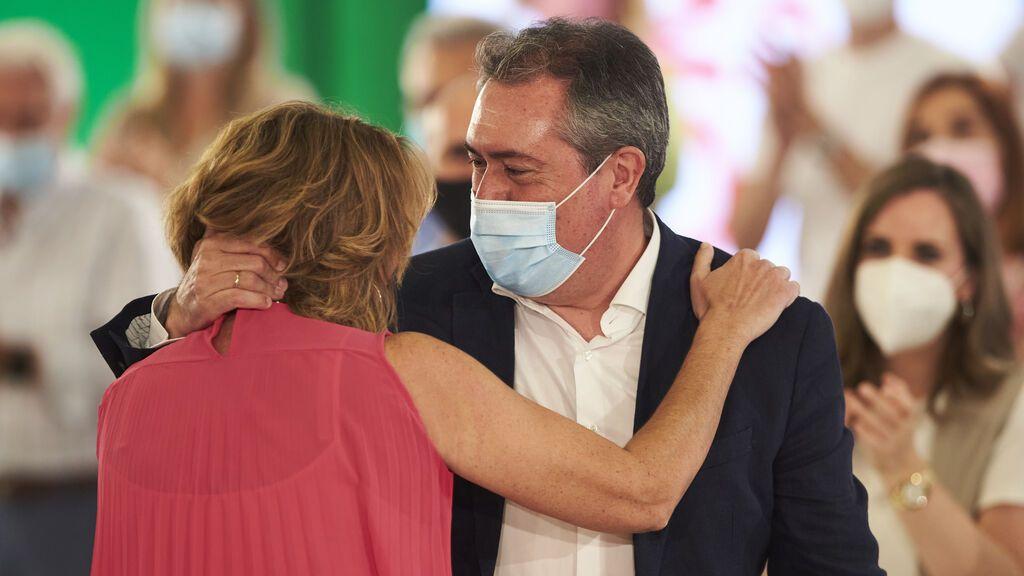 Susana Díaz acepta la propuesta de Espadas para ser elegida senadora por designación autonómica
