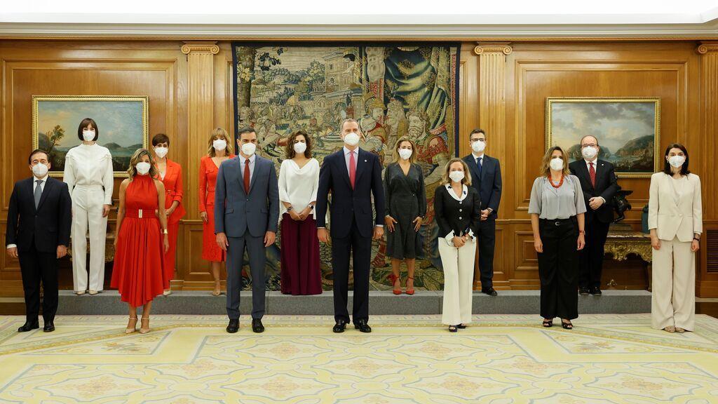 Estreno del nuevo consejo de Ministros