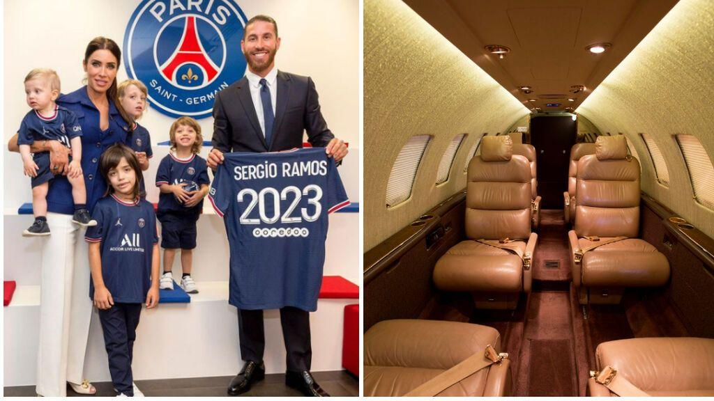 El 'mejor amigo' de la familia de Sergio Ramos tras su fichaje por el PSG: un jet privado propio de dos millones de euros