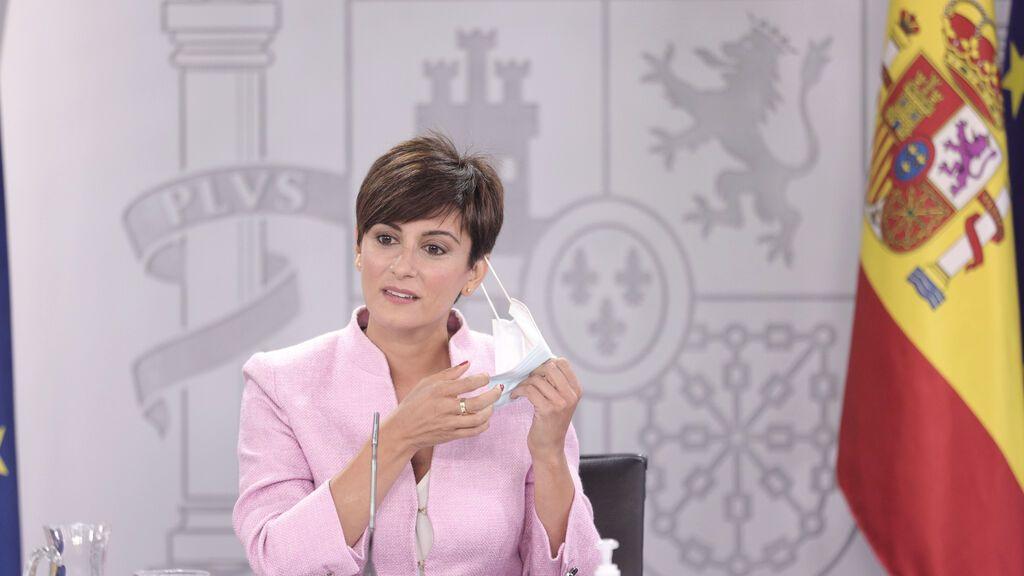 Isabel Rodríguez Consejo de Ministros