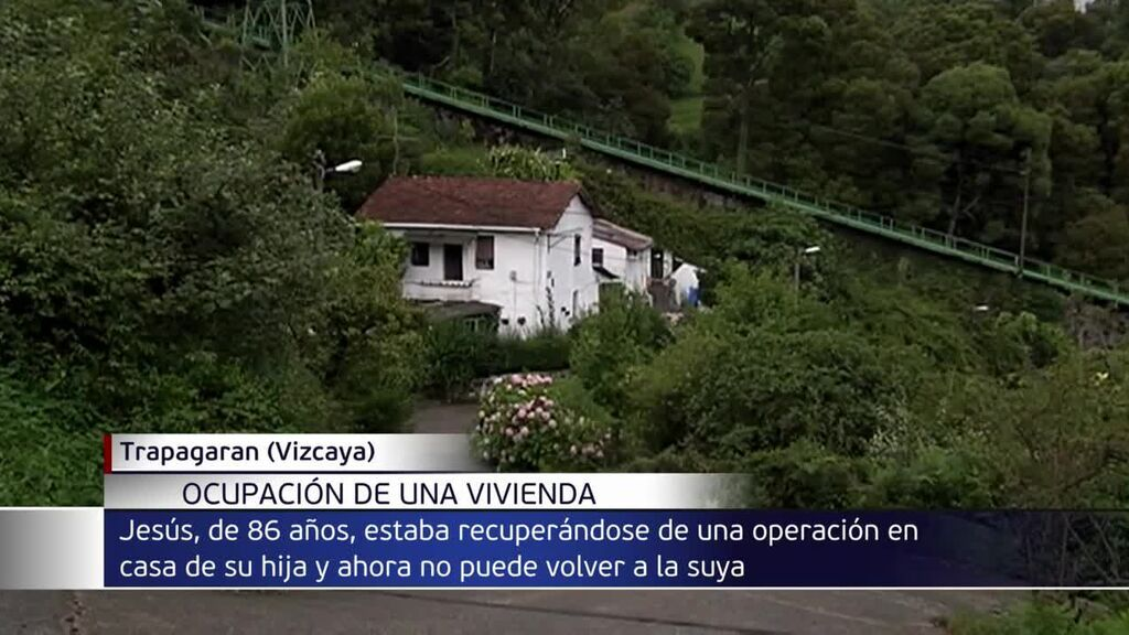 Okupan la vivienda de un anciano de 86 años en Vizcaya