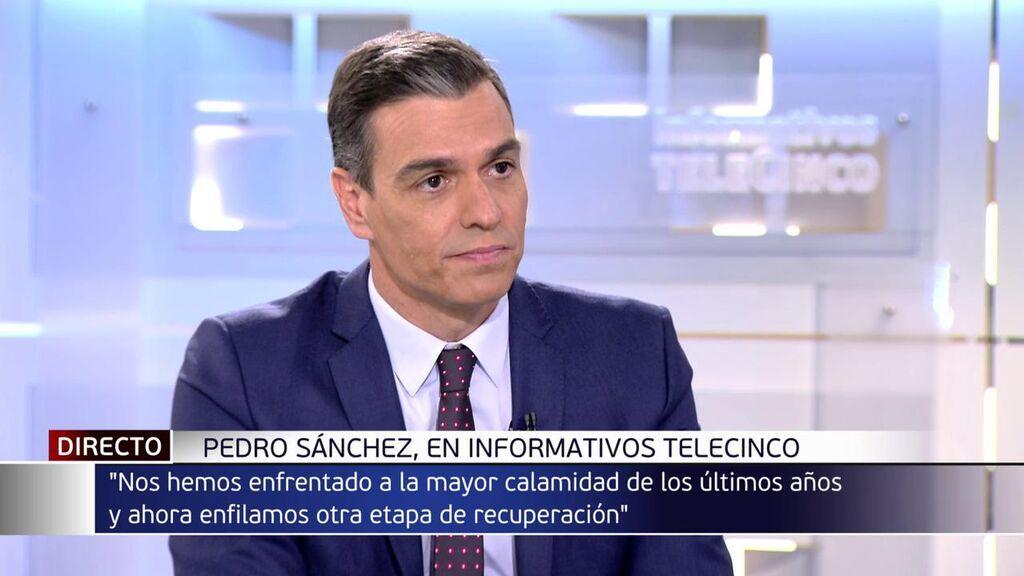 """Sánchez defiende la remodelación de su Gobierno para abordar """"30 meses"""" de """"recuperación"""""""