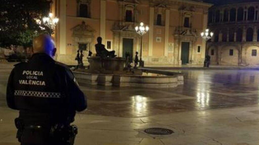 Primera noche bajo el toque de queda en 32 localidades valencianas