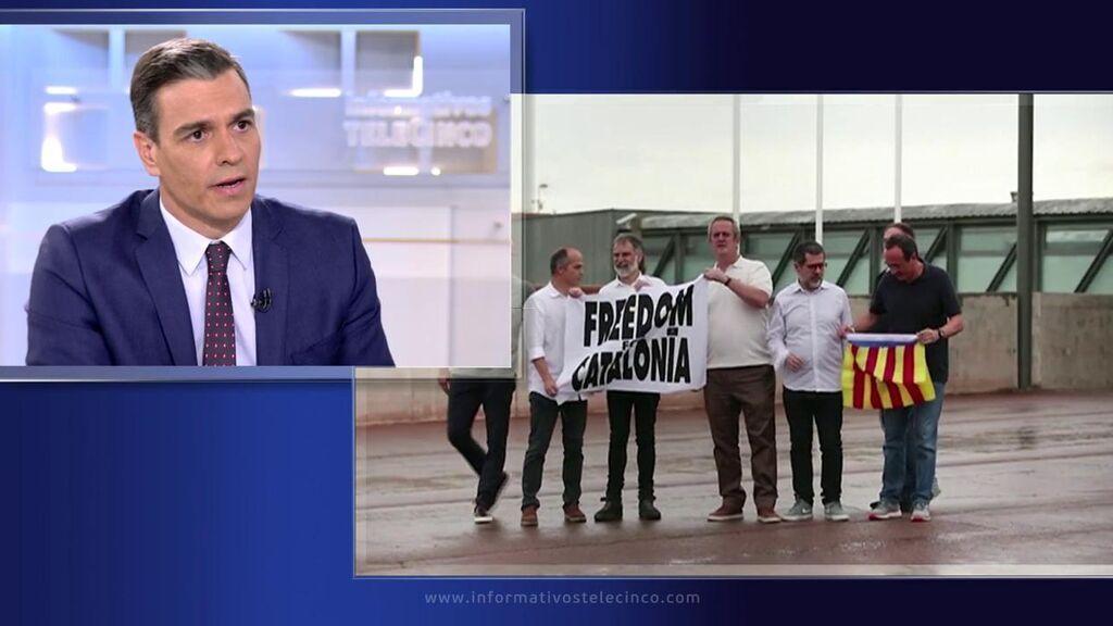 Pedro Sánchez sobre los indultos en Cataluña