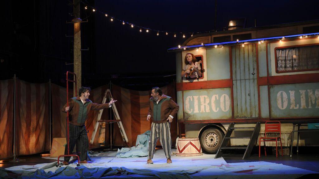 Presentación del espectáculo 'Anfitrión' en el Teatro La Latina