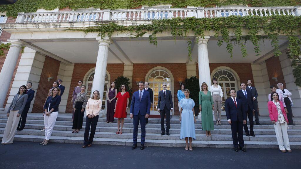 Primera reunión del Consejo de Ministros del nuevo gabinete de Pedro Sánchez
