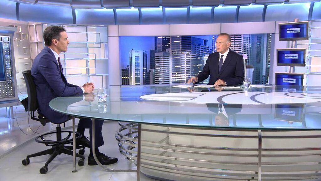 """Sánchez dice que la oposición es """"la más furibunda de la UE"""" y basa sus ejes en decir """"no a todo"""" y """"váyase"""""""