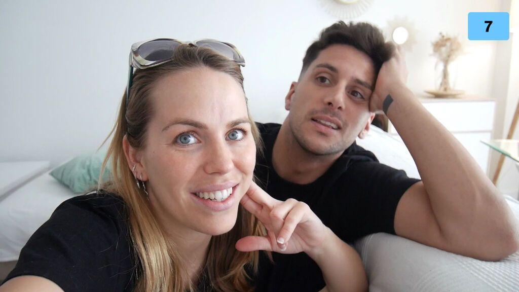 Yoli y Jorge se lanzan a imitar los TikTok de los famosos de Mediaset (1/2)
