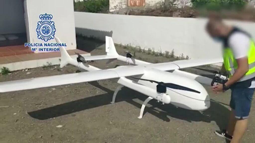 Intervenido un narcodron en la Costa del Sol