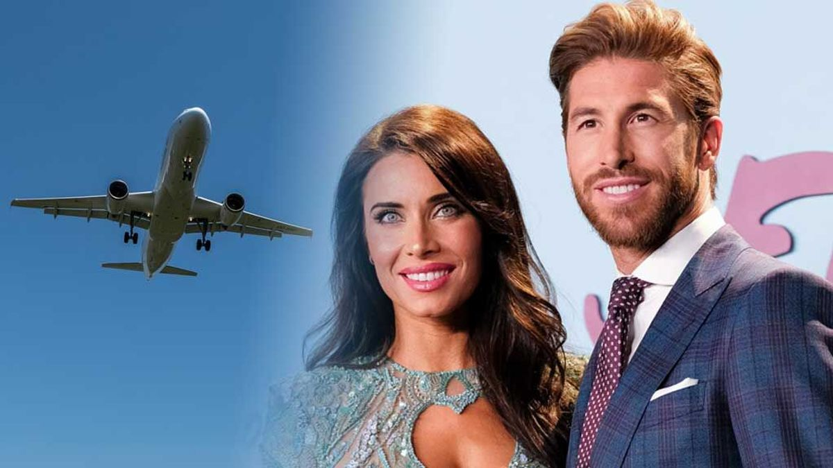 Sergio Ramos tiene un avión privado en el que volará cada semana Pilar Rubio tras su mudanza a París