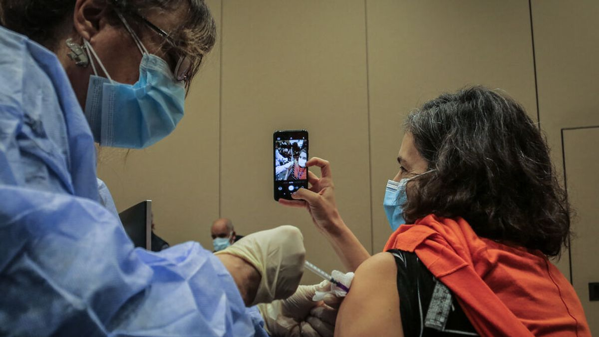selfie vacuna