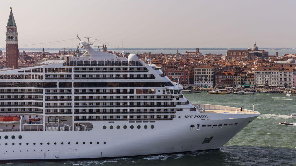 Italia prohíbe por decreto el paso de cruceros frente a Venecia desde el 1 de agosto