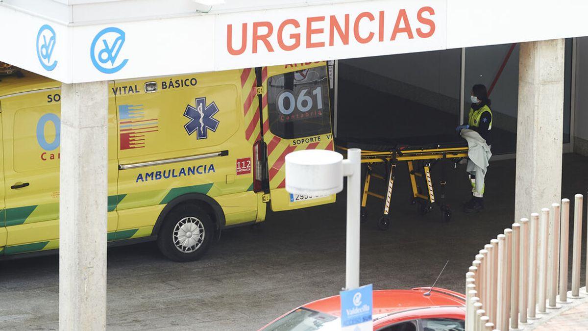 Ingresada una niña de menos de 10 años en Cantabria y un joven de 28 está internado en la UCI