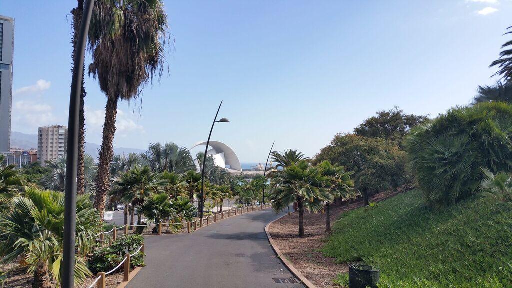 El Palmetum, en Santa Cruz de Tenerife