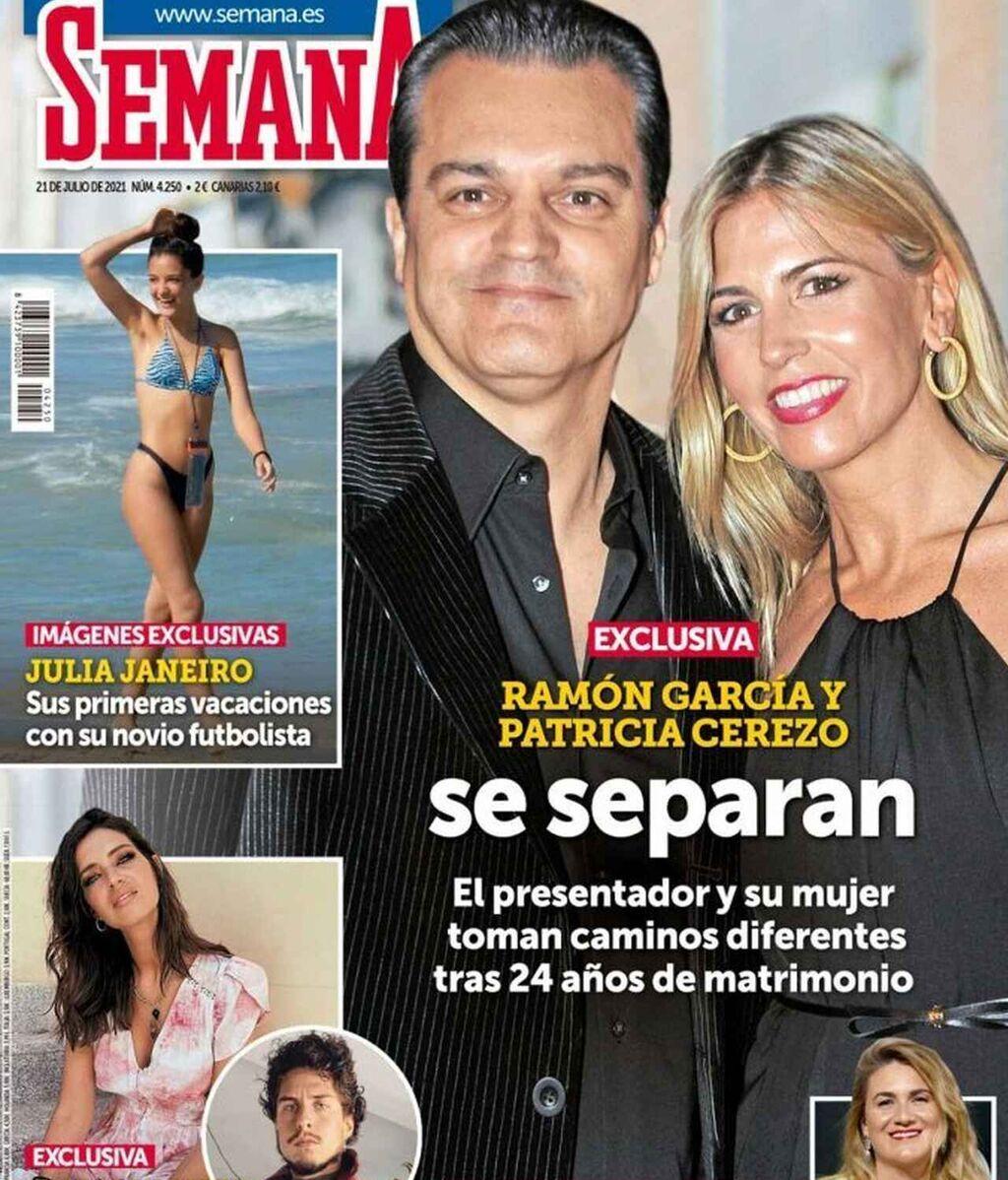 Ramón García y Patricia Cerezo se separan
