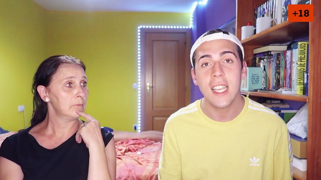 Jorge Cyrus le enseña a su madre el vocabulario más moderno (1/2)