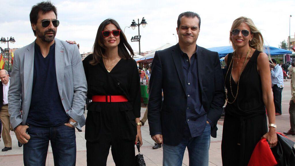 Juan del Val, Nuria Roca, Ramón García y Patricia Cerezo