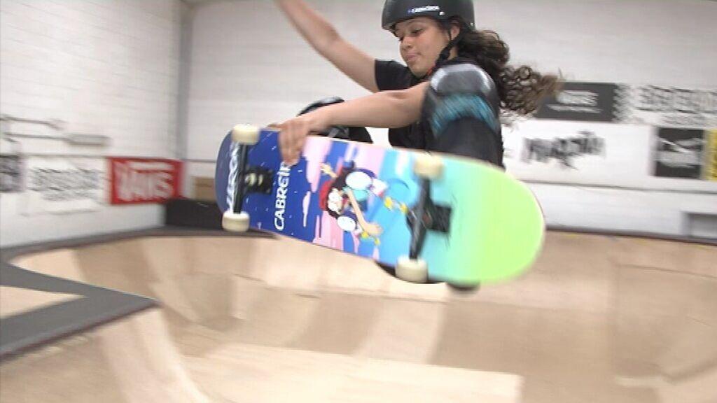 Julia Benedetti, una 'skater' de 16 años, es la olímpica española más joven en Tokio