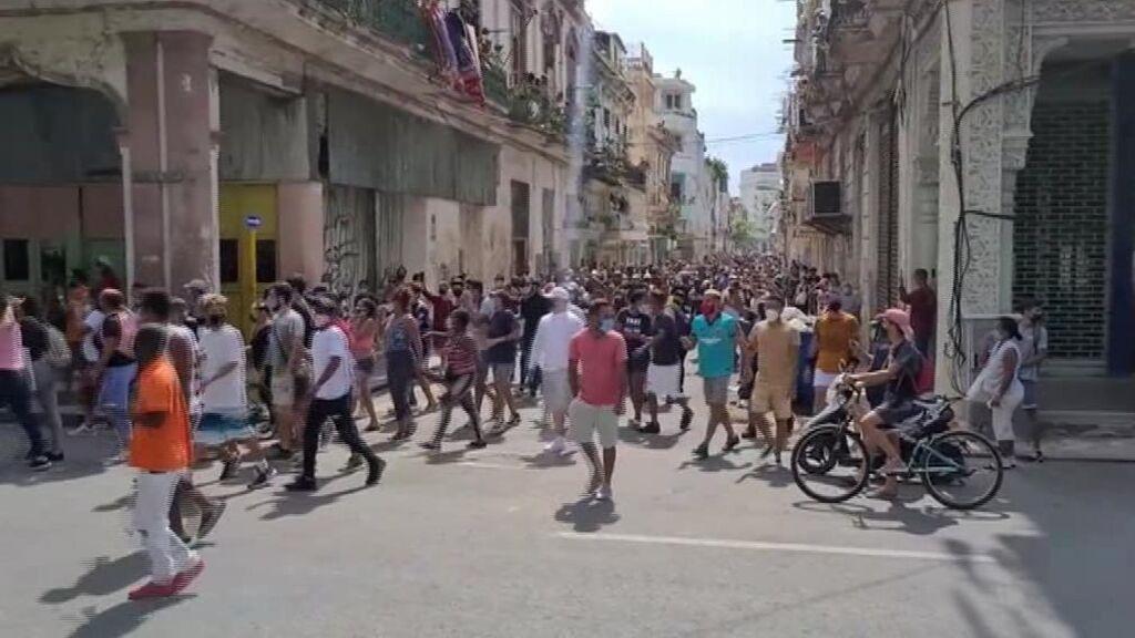 Un muerto en las protestas de Cuba