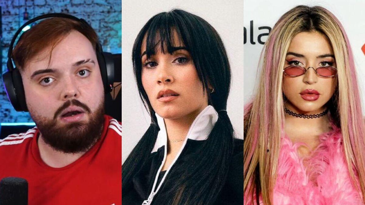 """Ibai Llanos, Aitana Ocaña o Lola Índigo condenan las declaraciones de Naim Darrechi: """"Voy a vomitar"""""""