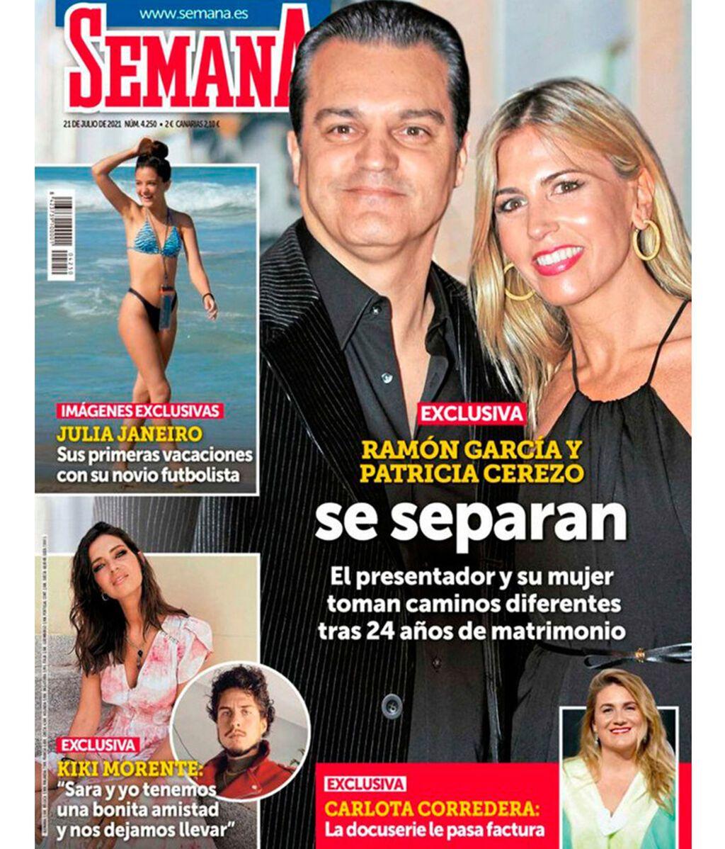 Ramón García y Patricia Cerezo se separan, según Semana