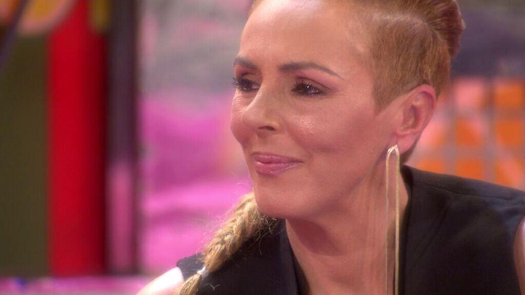 Rocío Carrasco, en su debut en Sálvame como defensora de la audiencia