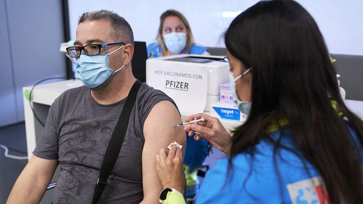 España supera a Estados Unidos en porcentaje de población vacunada con pauta completa