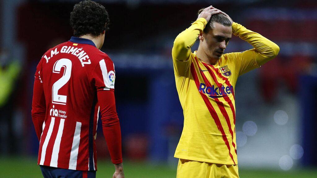 Simeone ha pedido la vuelta de Griezmann al Atlético.