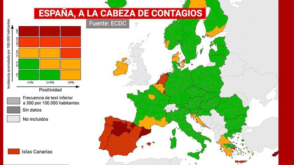 La mala imagen de España por la quinta ola vuelve a castigar con cancelaciones al sector turístico