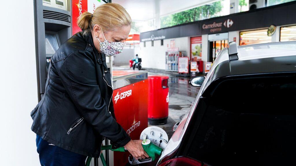 ¿Cuál es el precio de la gasolina en la segunda operación salida de julio?