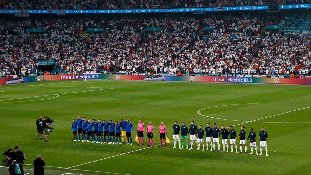 El tercer tiempo de la Eurocopa en Inglaterra: los contagios han subido un 43 por ciento