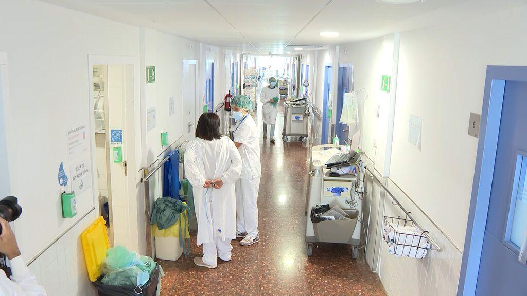 Hospital del Mar multiplica por cinco los nuevos ingresos diarios de Covid