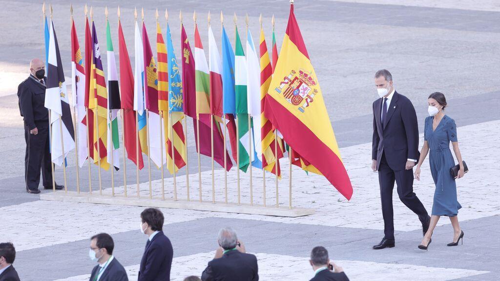 """El rey, en el homenaje de Estado a las víctimas de la covid-19: """"La unidad es fundamental"""""""