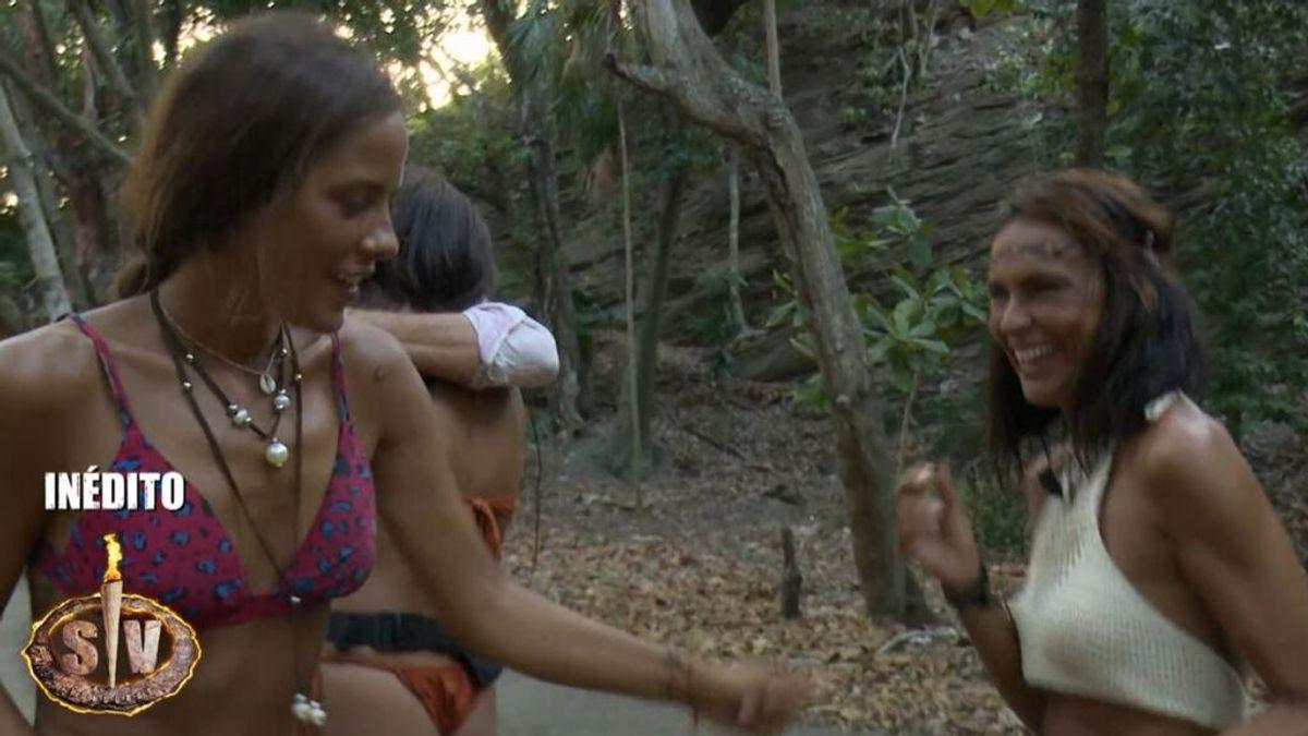 Inédito: Melyssa y Olga Moreno celebran juntas que son finalistas con un baile improvisado