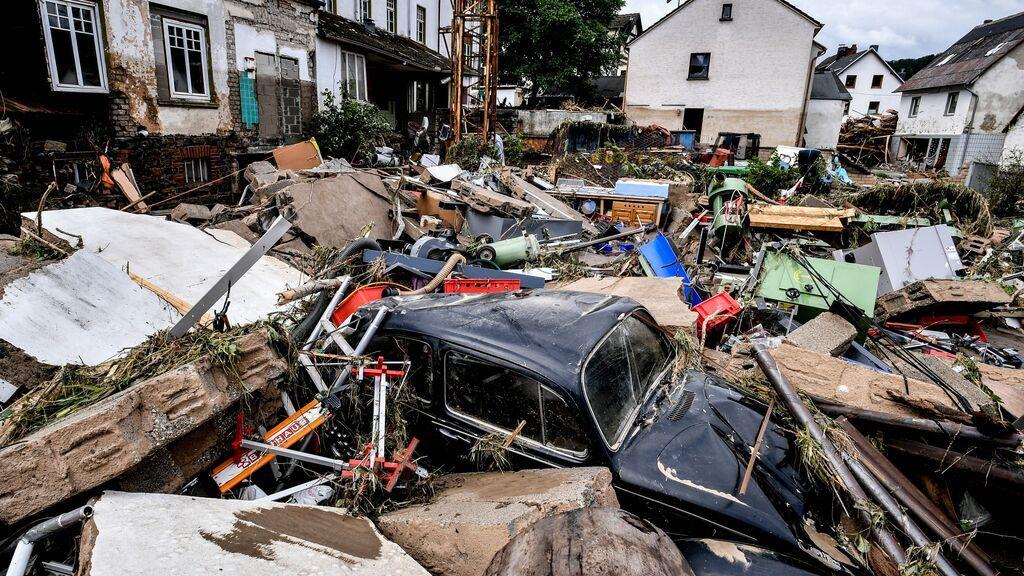 Decenas de muertos y desaparecidos en las peores inundaciones en Alemania en décadas