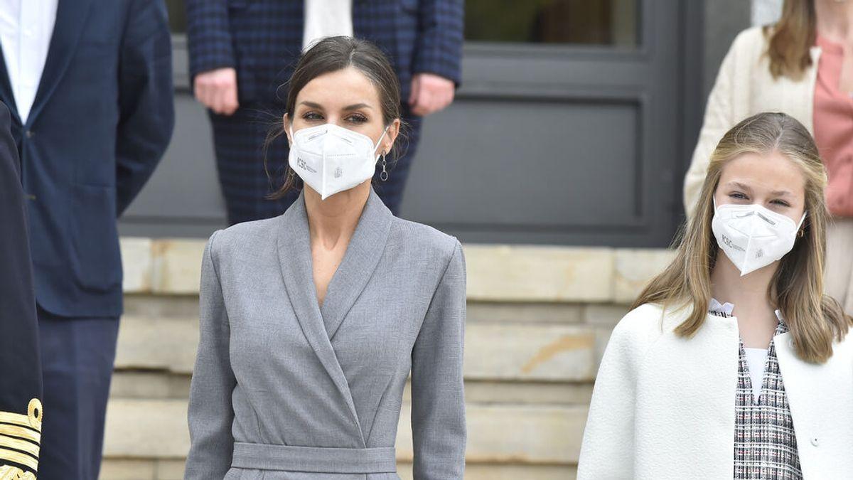 La reina Letizia  y la princesa Leonor se han vacunado contra el coronavirus