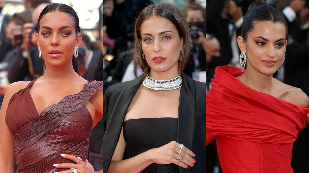 Georgina Rodríguez, Hiba Abouk y Marta Lozano: los looks más espectaculares de la alfombra roja del Festival de Cannes
