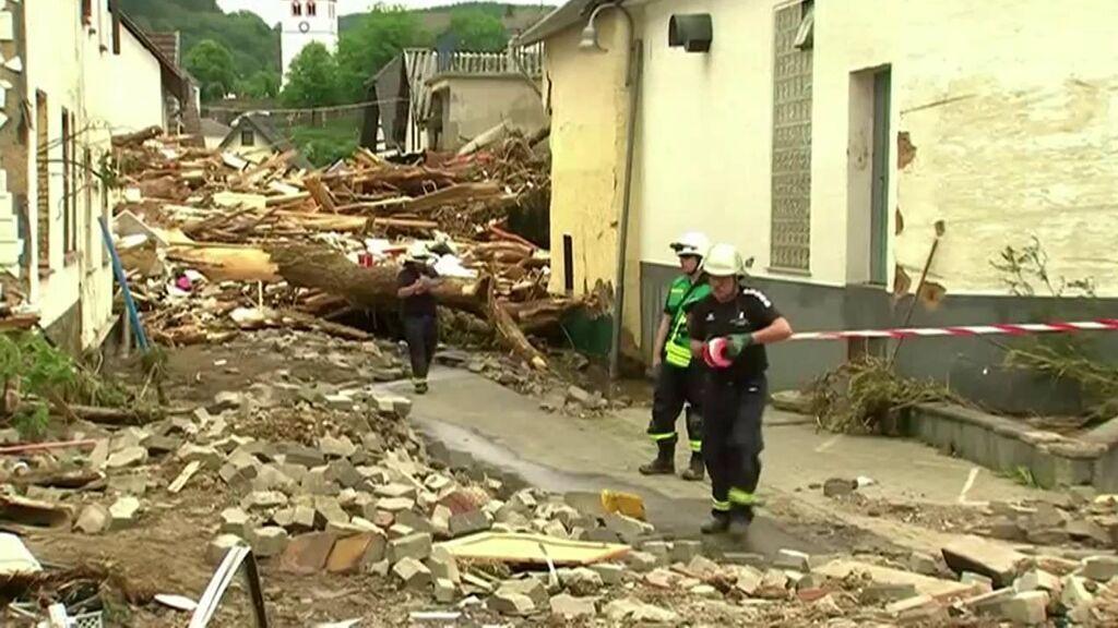 Catástrofe en Alemania