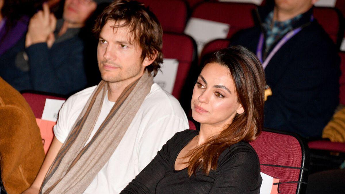 Ashton Kutcher renuncia a viajar al espacio por las presiones de su mujer, Mila Kunis