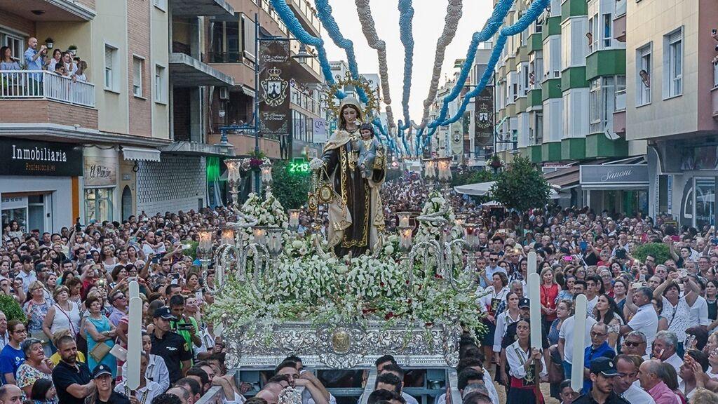 Sin procesiones y una agenda llena de actividades para disfrutar el día del Carmen en Málaga