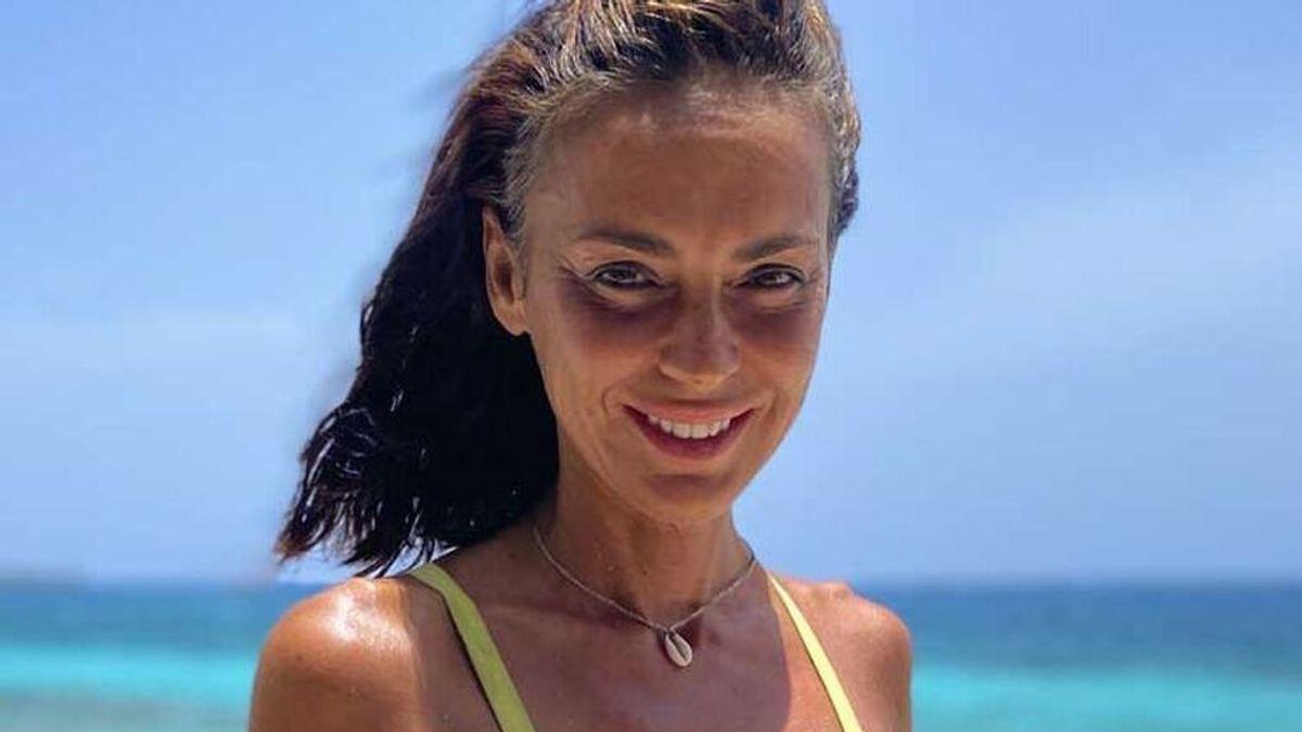 Olga Moreno posa en 'Supervivientes'
