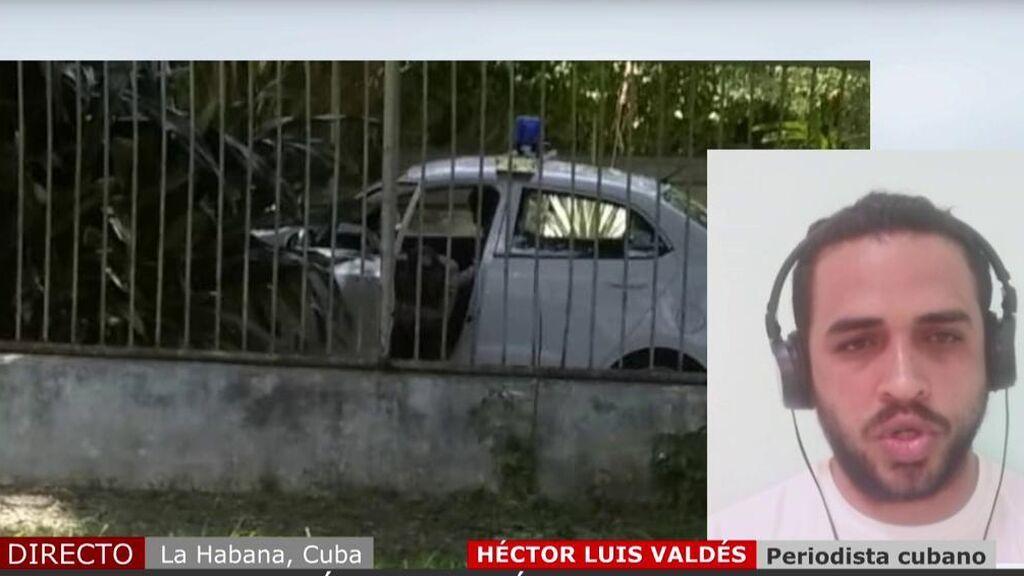 """Periodista detenido en Cuba: """"En estos momentos a los cubanos los están matando"""""""
