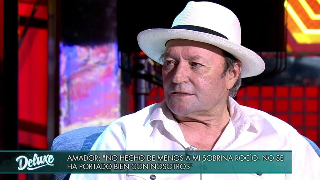 Amador Mohedano desmiente a Rocío Carrasco