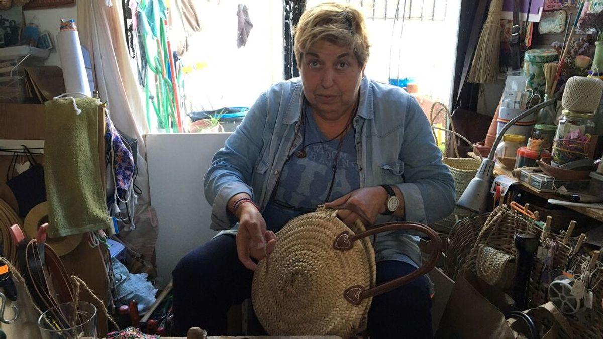 """Juani Marchán, la cestera de Véjer: """"hace 20 años la cestería tradicional no tenía ningún valor"""""""