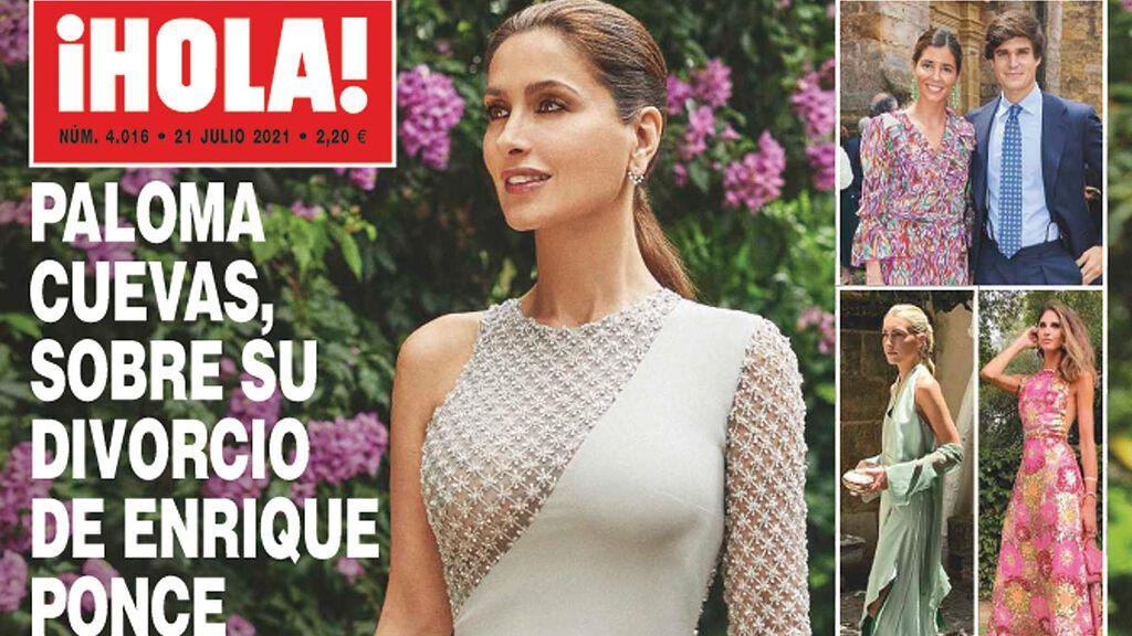 Paloma Cuevas, en la revista ¡Hola!