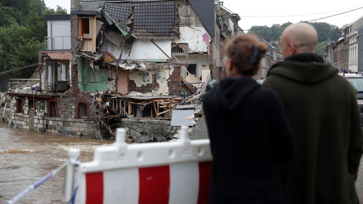 """""""Es una catástrofe, no tengo palabras"""" : el drama de los afectados por las riadas en el oeste de Europa"""