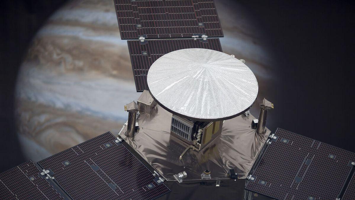 La sonda de la NASA Juno sobrevuela Genímedes: así es esta gran luna de Júpiter